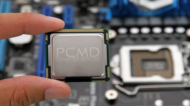 The central processing unit or CPU is the heart of all computers.